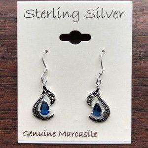 Jewelry - SS MARCASITE EARRINGS